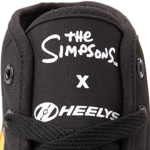 alternate view Mens Heelys x The Simpsons Hustle Skate Shoe - BlackALT2B
