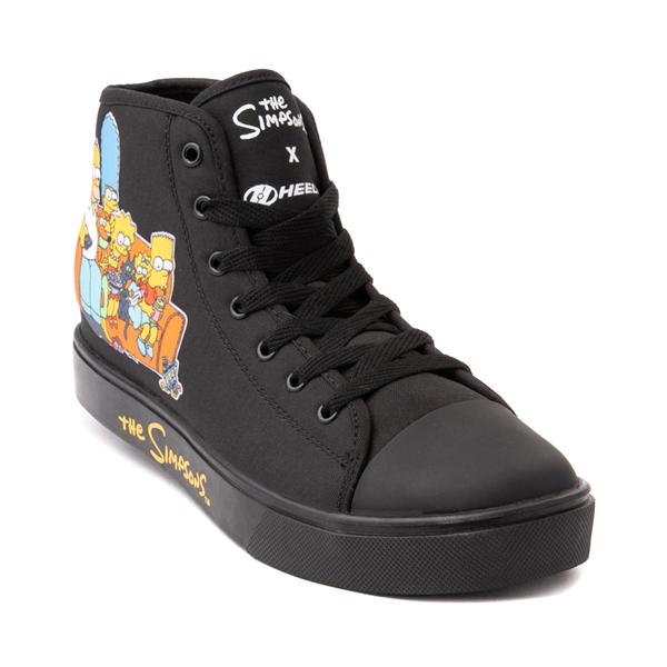 alternate view Mens Heelys x The Simpsons Hustle Skate Shoe - BlackALT5