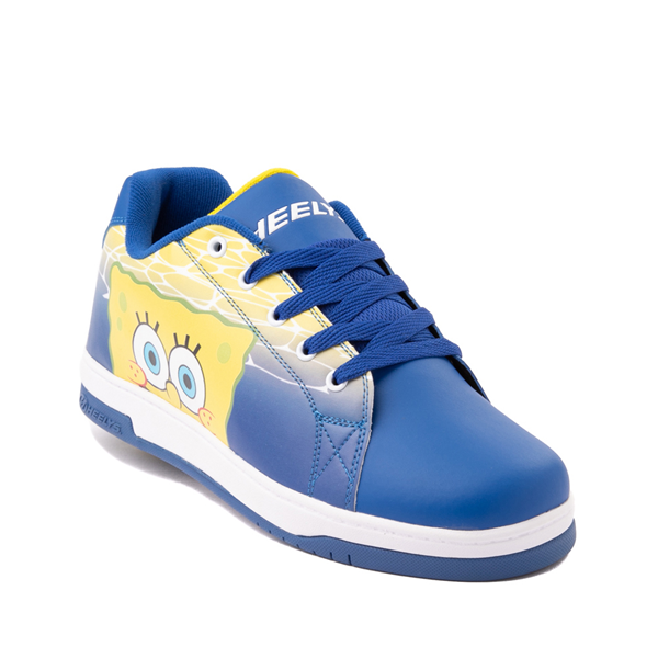 alternate view Mens Heelys x Spongebob Squarepants™ Split Skate Shoe - BlueALT5