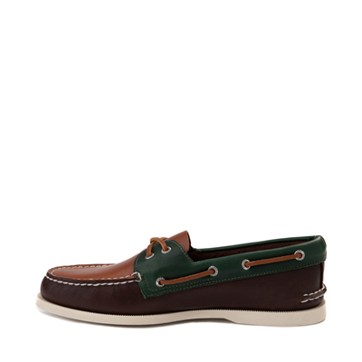 Alternate view of Mens Sperry Top-Sider Authentic Original Tri-Tone Boat Shoe - Brown / Multicolor