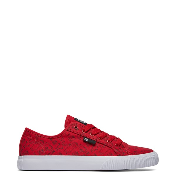 Mens DC x Bob's Burgers Manual Skate Shoe - Red