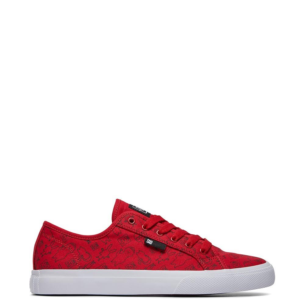 Mens DC x Bob's Burgers Manual Skate Shoe - Red