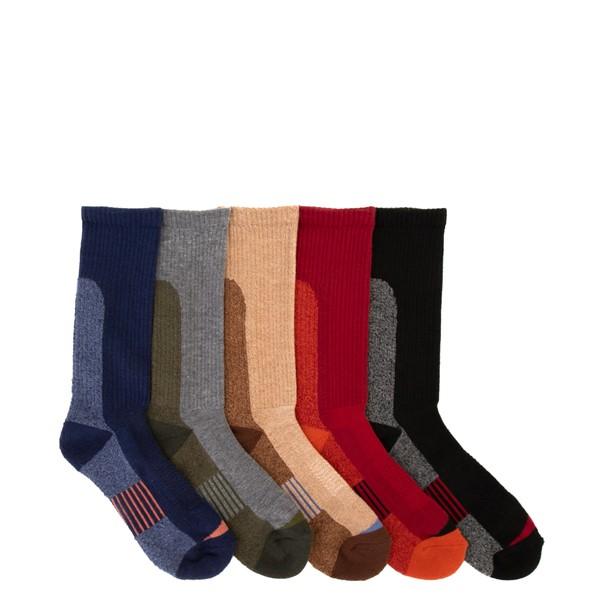 Main view of Winter Crew Socks 5 Pack - Big Kid - Multicolor