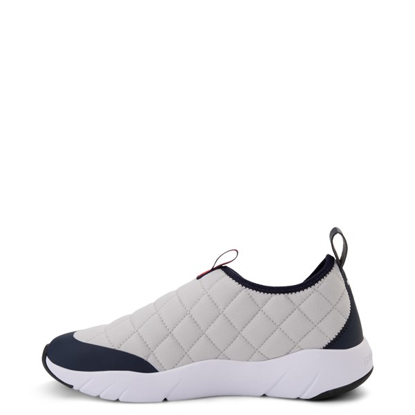 alternate view Mens Tommy Hilfiger Gaines Slip On Casual Shoe - Gray / NavyALT1