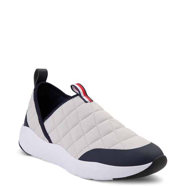 alternate view Mens Tommy Hilfiger Gaines Slip On Casual Shoe - Gray / NavyALT5