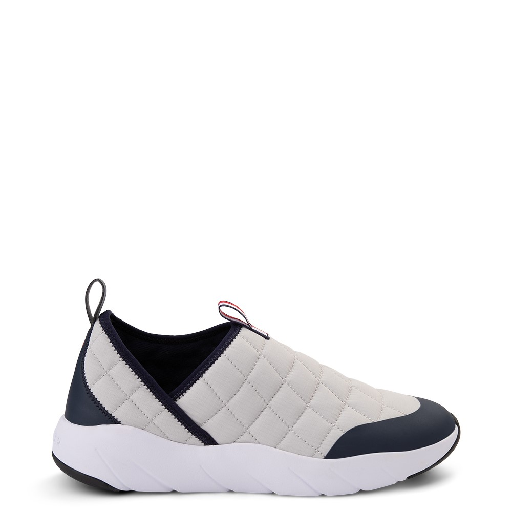 Mens Tommy Hilfiger Gaines Slip On Casual Shoe - Gray / Navy