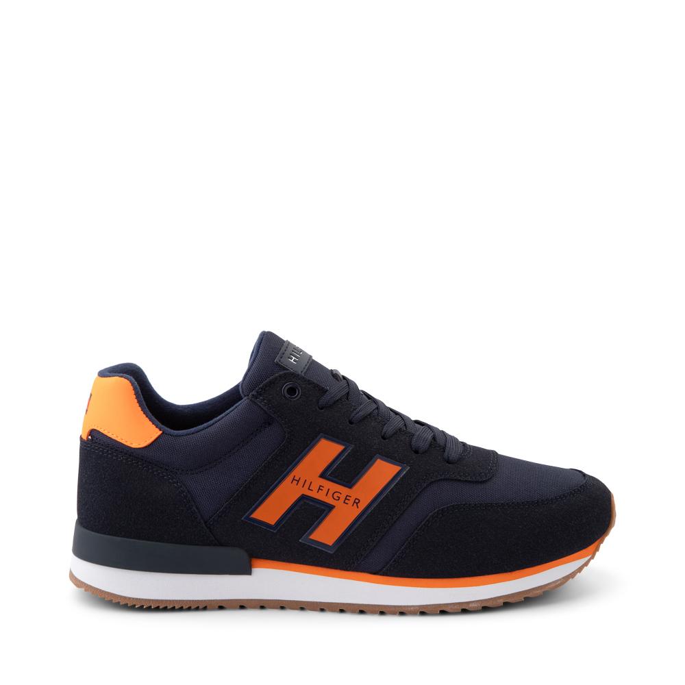 Mens Tommy Hilfiger Mainer Athletic Shoe - Navy / Orange