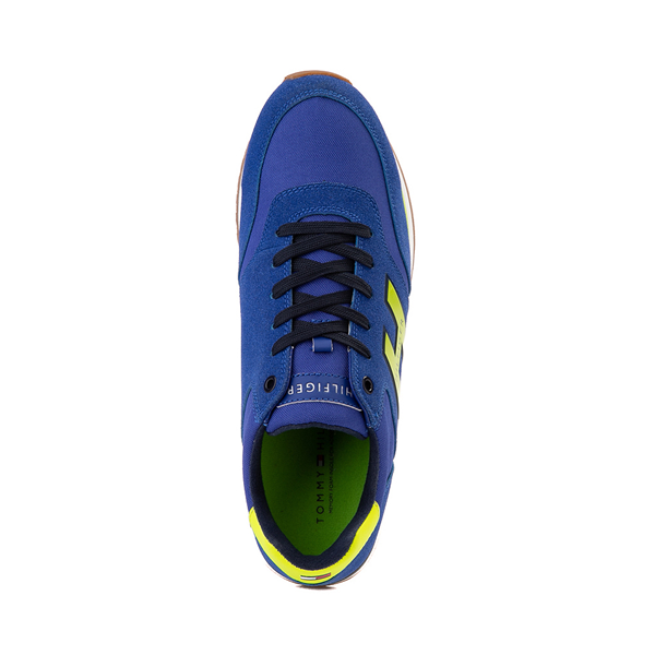 alternate view Mens Tommy Hilfiger Mainer Athletic Shoe - Royal Blue / YellowALT2