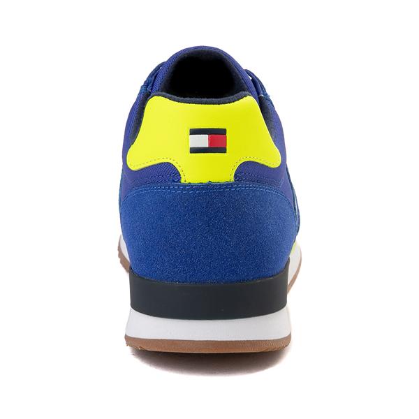 alternate view Mens Tommy Hilfiger Mainer Athletic Shoe - Royal Blue / YellowALT4