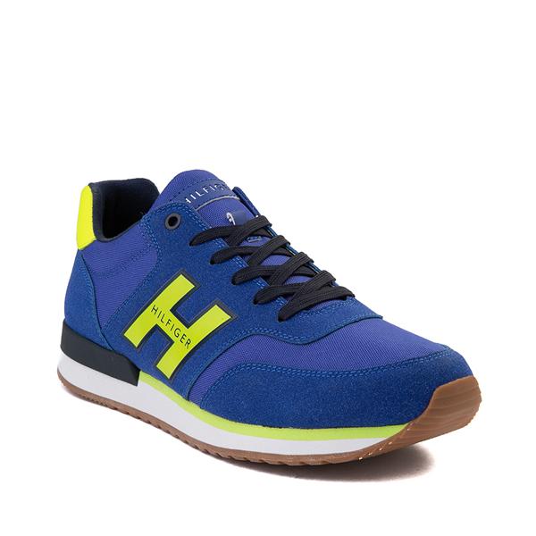 alternate view Mens Tommy Hilfiger Mainer Athletic Shoe - Royal Blue / YellowALT5