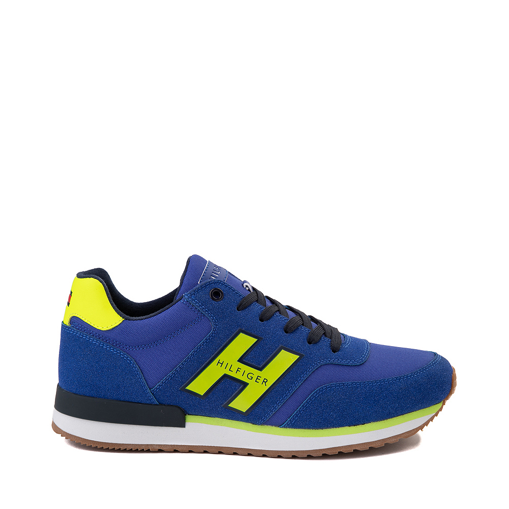 Mens Tommy Hilfiger Mainer Athletic Shoe - Royal Blue / Yellow