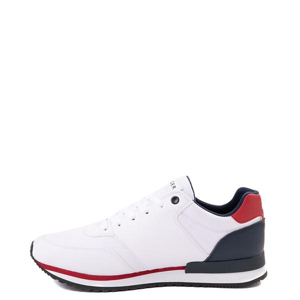 alternate view Mens Tommy Hilfiger Mainer Athletic Shoe - White / Navy / RedALT1