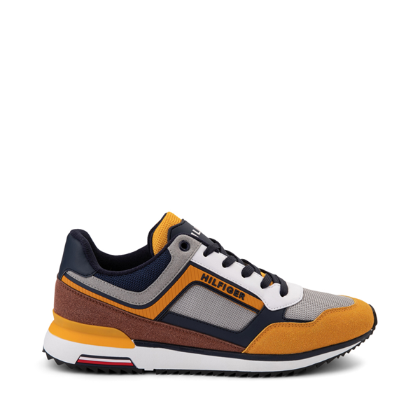 Main view of Mens Tommy Hilfiger Vocto 2 Athletic Shoe - Yellow / Gray / Navy