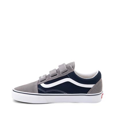 Alternate view of Vans Old Skool V Off The Wall Skate Shoe - Frost Gray / Dress Blues