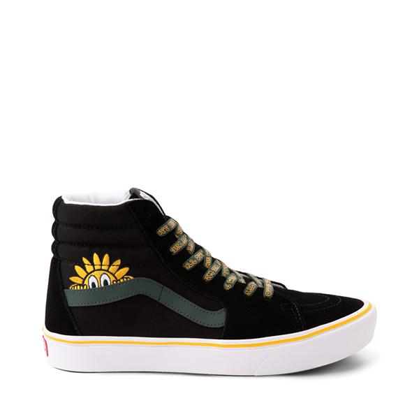 Main view of Vans Sk8 Hi ComfyCush® Trip Outdoors Skate Shoe - Black