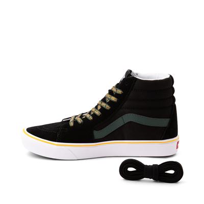 Alternate view of Vans Sk8 Hi ComfyCush® Trip Outdoors Skate Shoe - Black