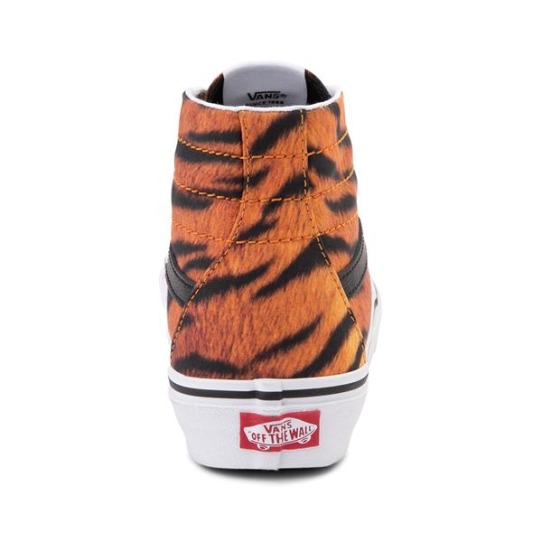 alternate view Vans Sk8 Hi Tapered Skate Shoe - TigerALT4