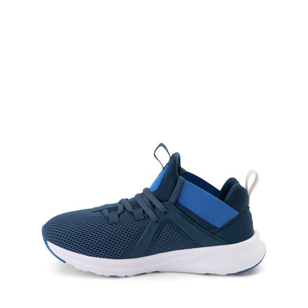 alternate view Puma Enzo 2 Weave Athletic Shoe - Big Kid - BlueALT1