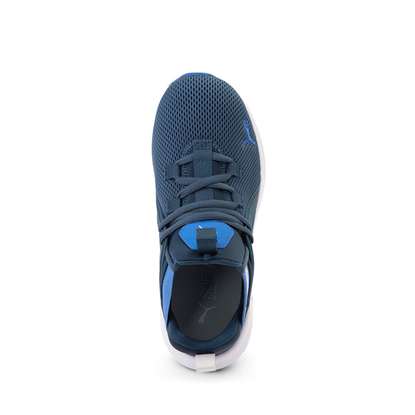 alternate view Puma Enzo 2 Weave Athletic Shoe - Big Kid - BlueALT2
