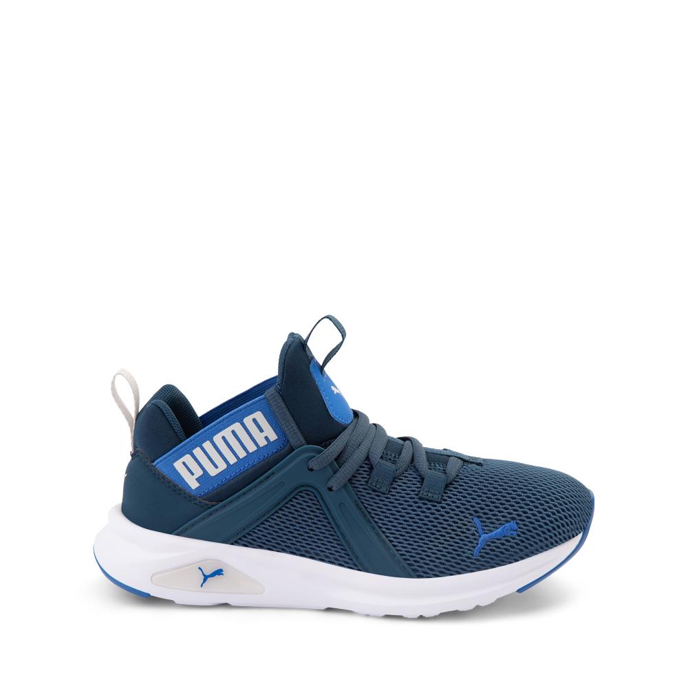 Puma Enzo 2 Weave Athletic Shoe - Big Kid - Blue