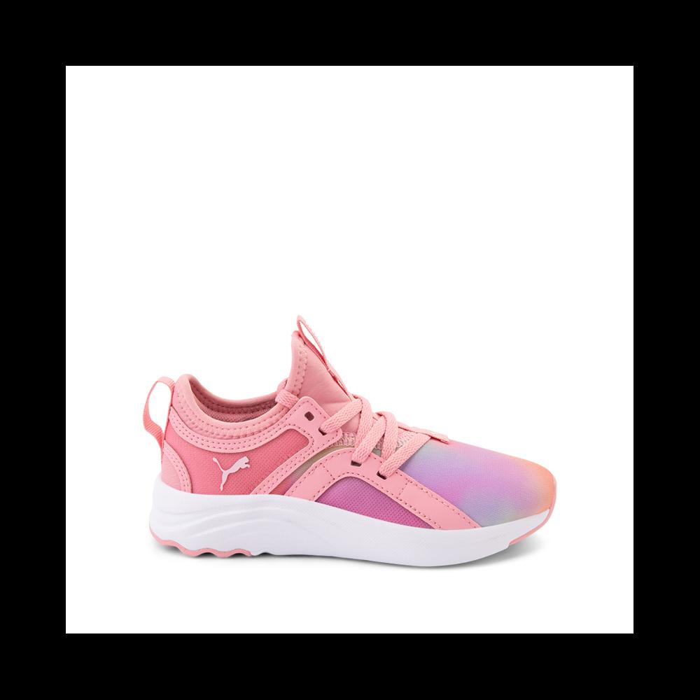 Puma SoftRide Sophia Prismatic Athletic Shoe - Big - Kid - Multi