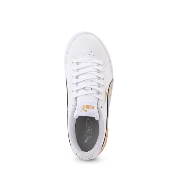 alternate view Puma Jada Athletic Shoe - Big Kid - Olympic White / RainbowALT2