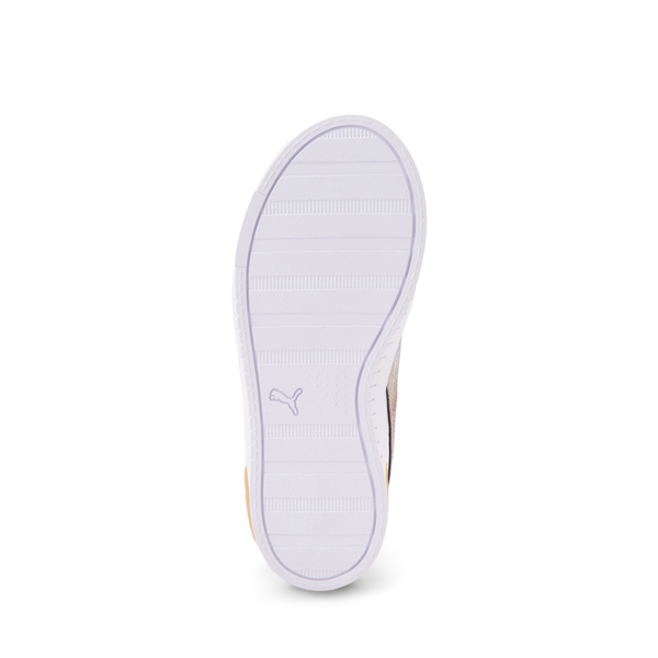 alternate view Puma Jada Athletic Shoe - Big Kid - Olympic White / RainbowALT3