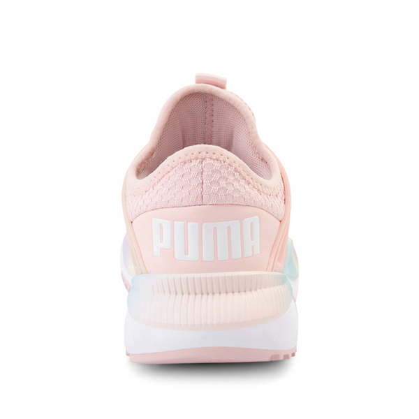 alternate view Puma Pacer Future Rainbow Athletic Shoe - Little Kid / Big Kid - PinkALT4