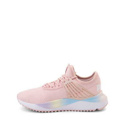 Alternate view of Puma Pacer Future Rainbow Athletic Shoe - Little Kid / Big Kid - Pink
