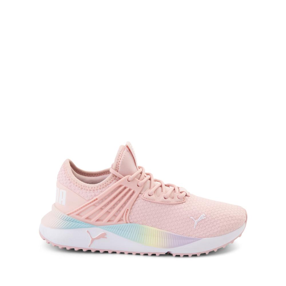 Puma Pacer Future Rainbow Athletic Shoe - Big Kid - Pink