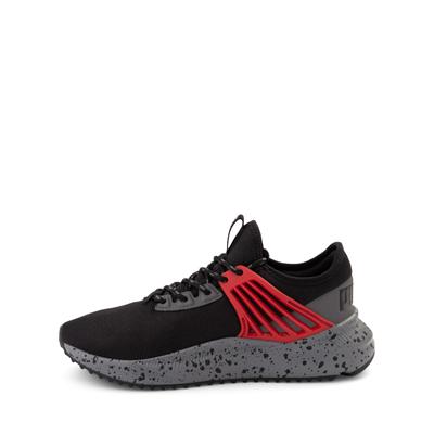 Alternate view of Puma Pacer Future Trek Athletic Shoe - Big Kid - Black / High Risk Red