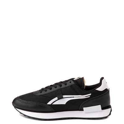 Alternate view of Mens Puma Future Rider Twofold Athletic Shoe - Black