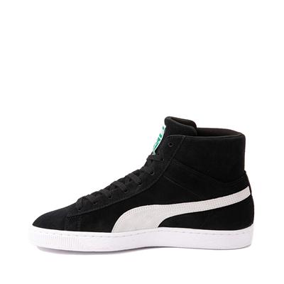Alternate view of Puma Suede Mid XXI Athletic Shoe - Black