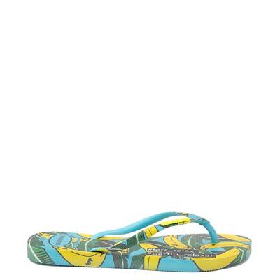 Alternate view of Womens Havaianas Slim Summer Sandal - Blue Banana