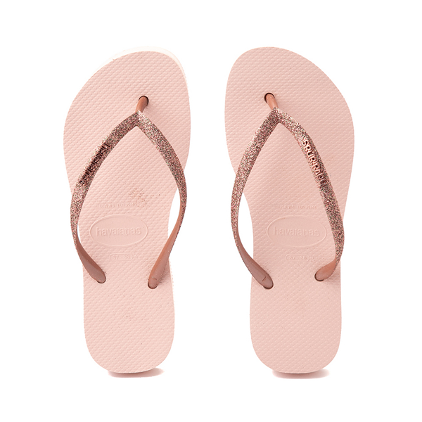 alternate view Womens Havaianas Slim Flatform Sandal - Ballet RoseALT1