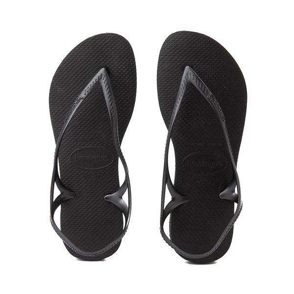 Main view of Womens Havaianas Sunny Sandal - Black