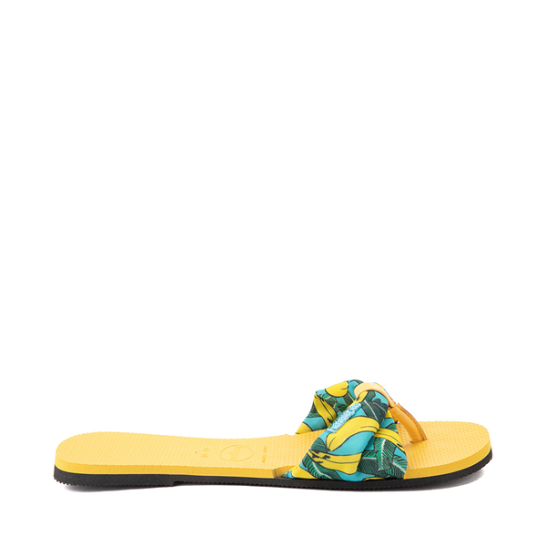 alternate view Womens Havaianas You St. Tropez Sandal - Gold YellowALT1