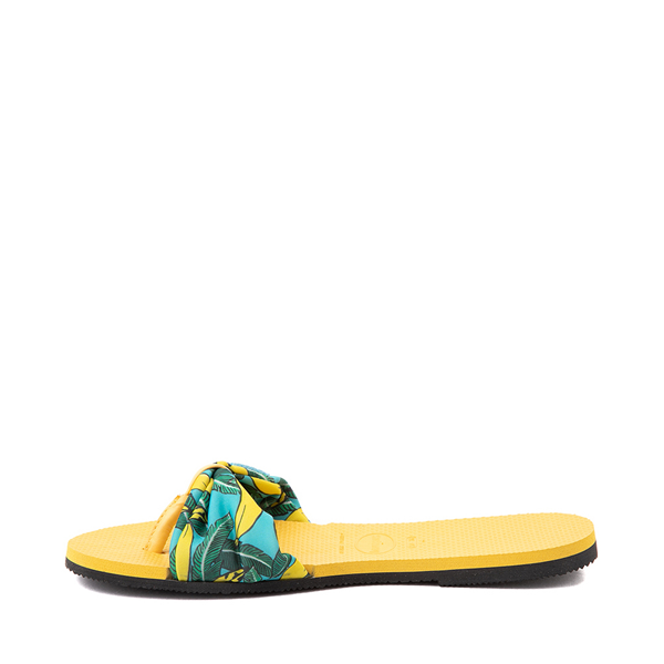 alternate view Womens Havaianas You St. Tropez Sandal - Gold YellowALT1B