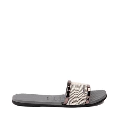 Alternate view of Womens Havaianas You Trancoso Sandal - Steel Gray