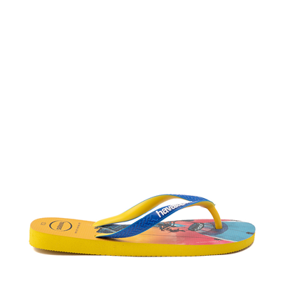 Alternate view of Havaianas Fortnite Top Sandal - Citrus Yellow