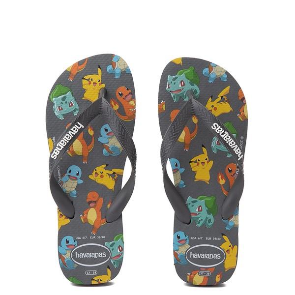 Main view of Havaianas Pokemon Top Sandal - New Graphite