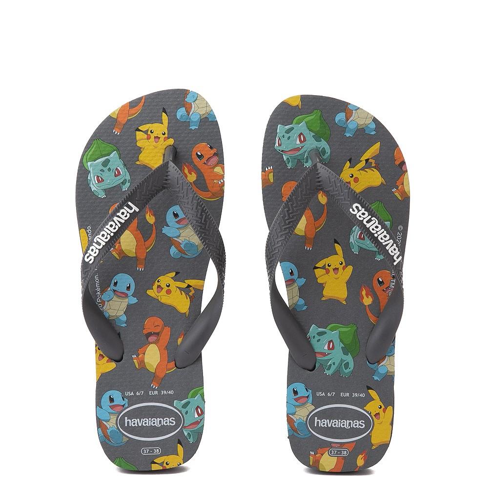 Havaianas Pokemon Top Sandal - New Graphite
