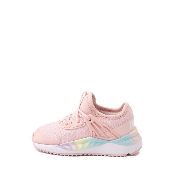 alternate view Puma Pacer Future Rainbow Athletic Shoe - Baby / Toddler - PinkALT1