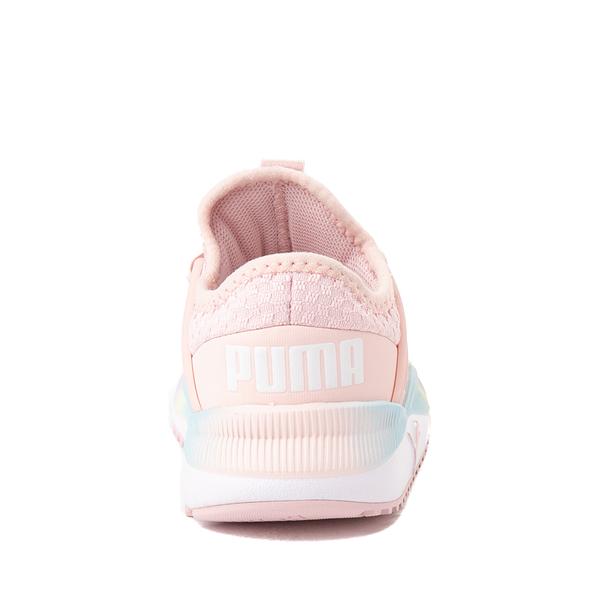 alternate view Puma Pacer Future Rainbow Athletic Shoe - Baby / Toddler - PinkALT4