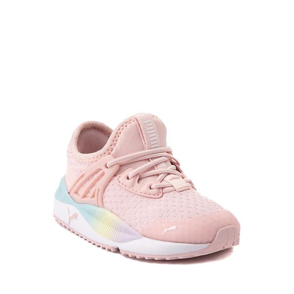 alternate view Puma Pacer Future Rainbow Athletic Shoe - Baby / Toddler - PinkALT5