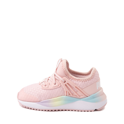 Alternate view of Puma Pacer Future Rainbow Athletic Shoe - Baby / Toddler - Pink
