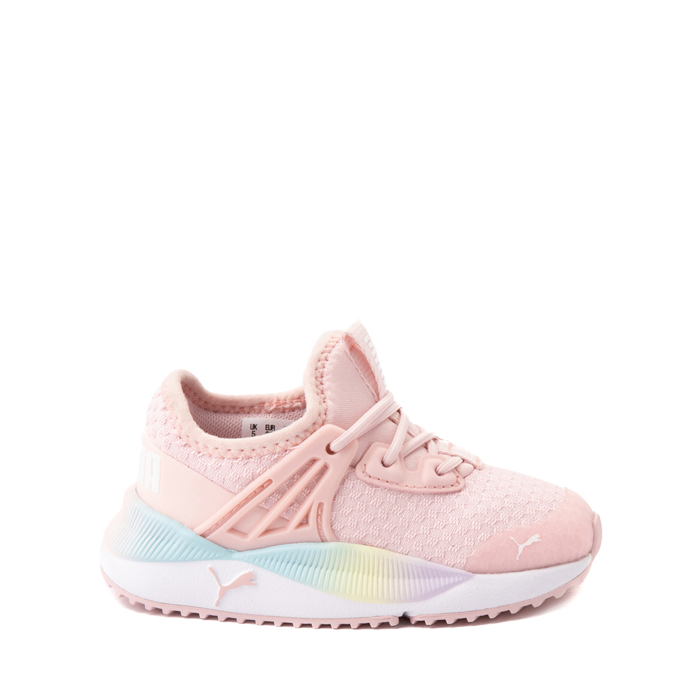 Puma Pacer Future Rainbow Athletic Shoe - Baby / Toddler - Pink