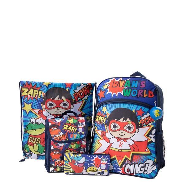 Ryan's World Backpack Set - Blue / Multicolor