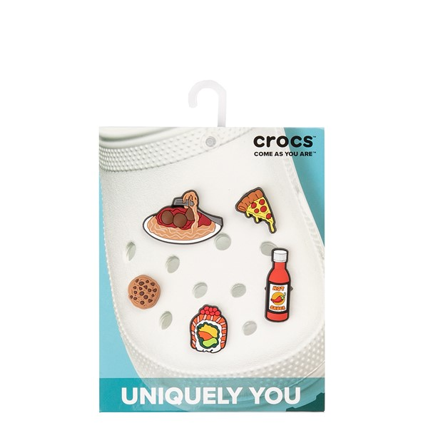 alternate view Crocs Jibbitz™ Food Please Shoe Charms 5 Pack - MulticolorALT2