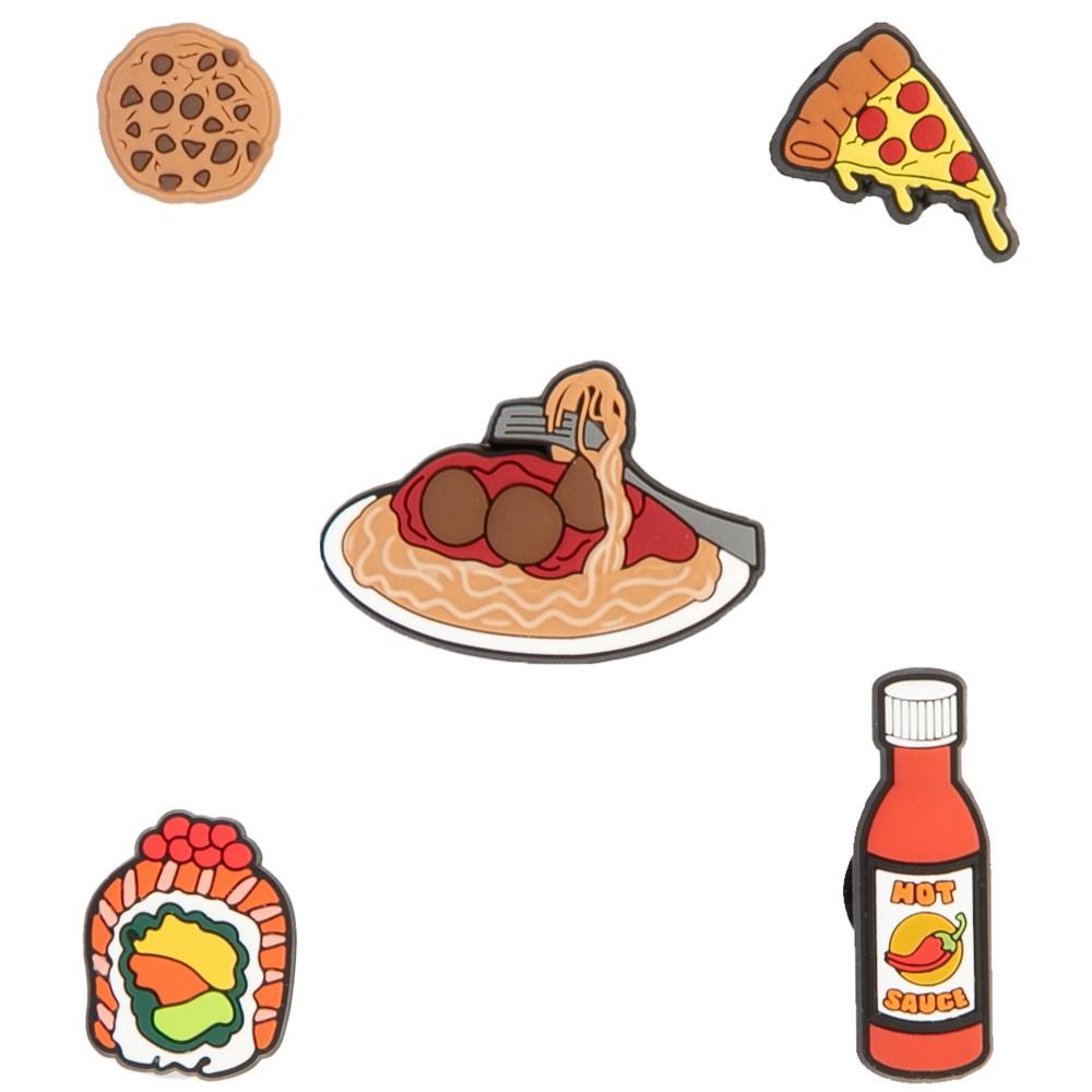 Crocs Jibbitz™ Food Please Shoe Charms 5 Pack - Multicolor